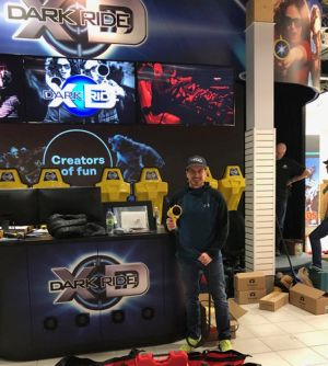 Alex Tagliani and partners launch new virtual amusement store TAG E-Karting in Sherbrooke