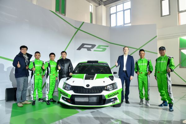 First SKODA FABIA R5 to be campaigned by Chinese rally team