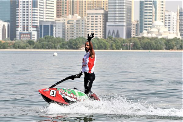 UIM ABP Aquabike freestyle and Runabout GP1 standings after Sharjah GP