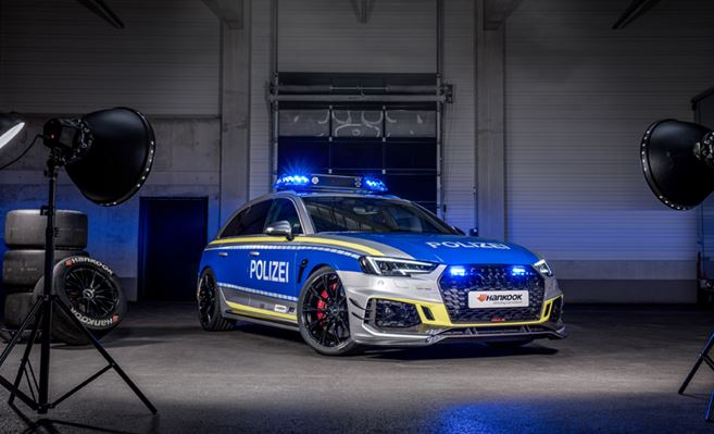 "ABT RS4-R is the new ""Police Car"" for TUNE IT! SAFE!"