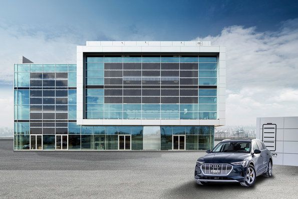 The Audi Brand Experience Center at Munich Airport -Showcase of Sustainability