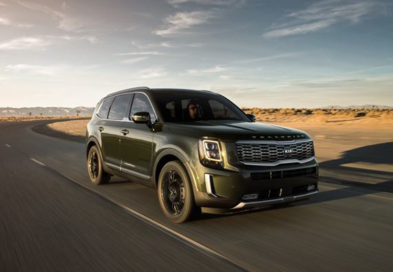 Kia Telluride wins 2020 Edmunds Top Rated Award