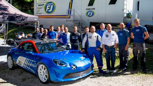 Team FJ and Signatech-Alpine sign a distribution agreement for the new Alpine A110 Rally R-GT
