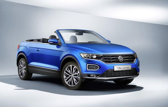 Production of the VW T-Roc Cabriolet begins in Osnabrück