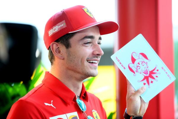 Charles Leclerc to stay with Scuderia Ferrari Mission Winnow to the end of 2024