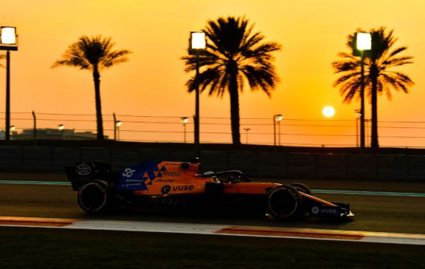 McLaren F1's Carlos Sainz finished the last test day in Abu Dhabi with 112 laps