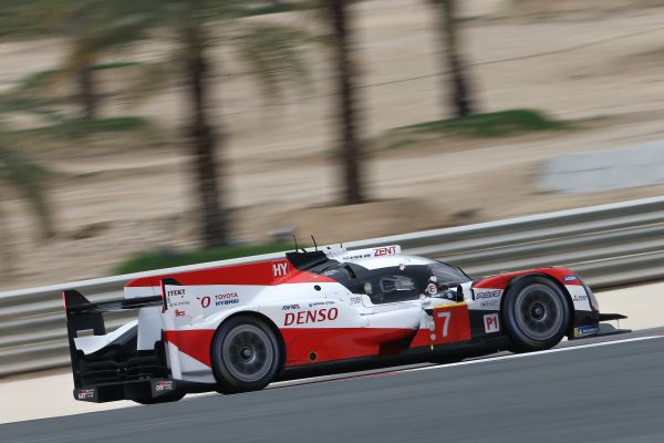 8 Hours of Bahrain result by class - #7 Toyota winner