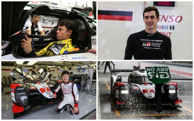 Talent trio try TS050 hybrid in Bahrain