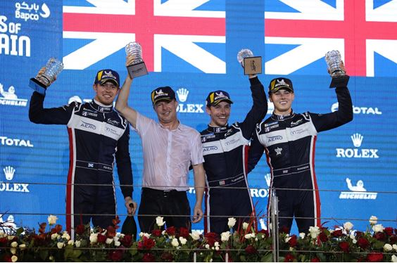 United Autosports score emphatic maiden WEC victory in Bahrain