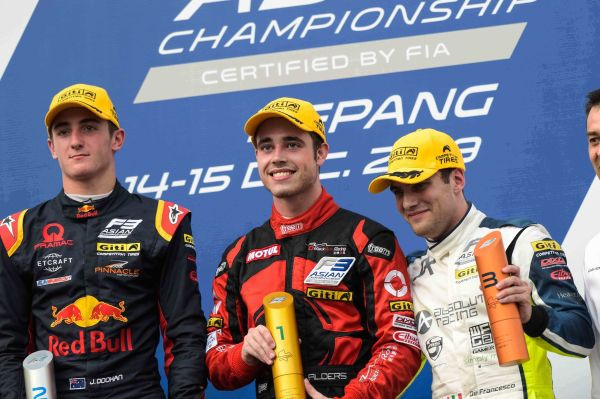 Newcomer Joey Alders takes sensational season-opening F3 Asian Championship win