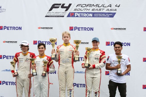 Seppanen claims F4 SEA race 4 win, his second on Sepang weekend