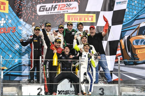 Gulf 12 Hours race classification - Attempto Audi #66 win
