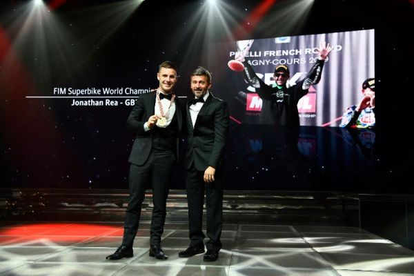 2019 World Champions celebrated at the FIM Awards in Monaco