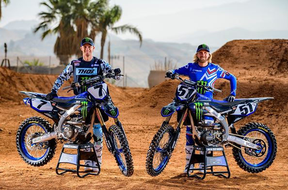 Monster Energy Yamaha Factory Racing Team's Justin Barcia and Aaron Plessinger Ready for 2020 Return