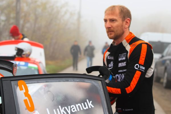 The fastest driver in the ERC is… Lukyanuk