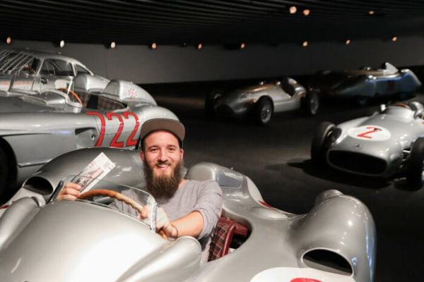 A year of positive figures for the Mercedes-Benz Museum
