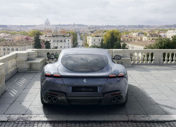 Ferrari Roma -Details revealed about the Prancing Horse's new V8 2+ coupé