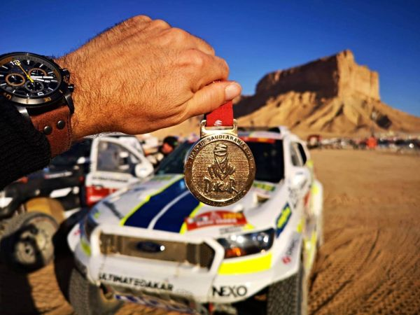 Ourednicek and Kripal brings Ford home after final stage drama
