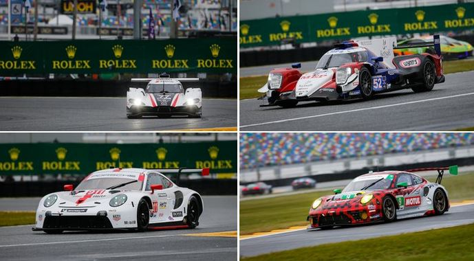 24h Daytona WeatherTech qualifying result - photo