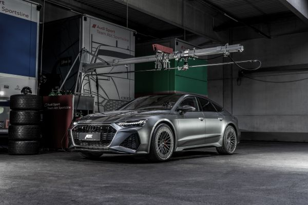 New Audi RS 7 Sportback boasts 700 hp and 880 Nm from ABT