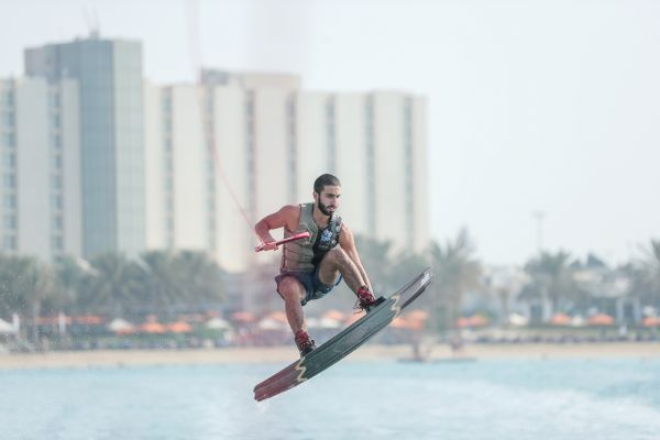 Omeir Saeed aims for back to back Wakeboard wins in Abu Dhabi