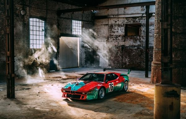 BMW brings Andy Warhol's Art Car to India
