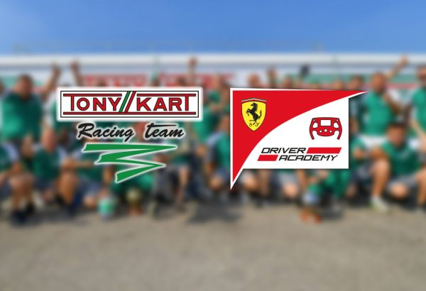 Tony Kart RT partnership renewed with Ferrari Driver Academy