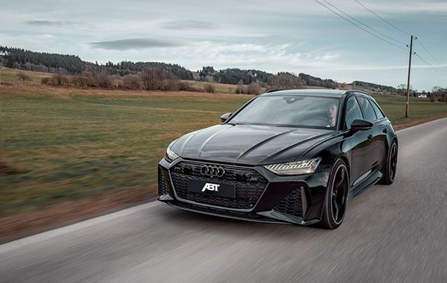 ABT equips the new Audi RS 6 with 700 hp and 880 Nm