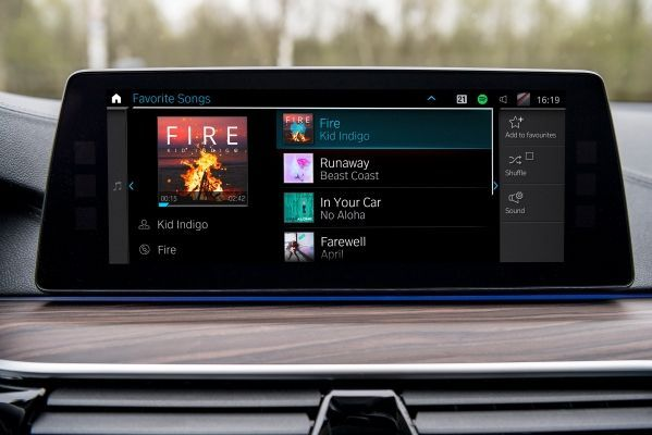 The new music streaming offering from BMW - Connected Music