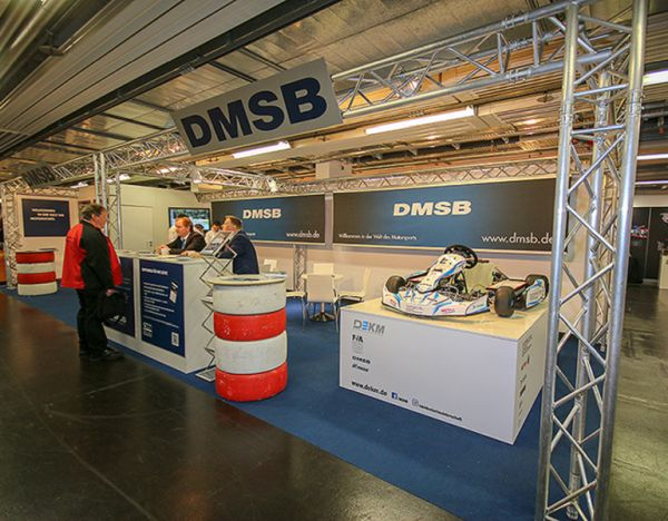 DKM at the kart fair in Offenbach on the Main