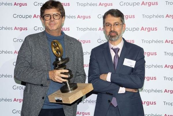 "Fiat Concept Centoventi awarded the Special Jury Prize at the ""Trophées Argus 2020"""