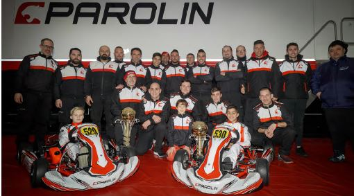 Parolin Kart -Victory at Adria in the European season opener