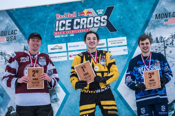 Red Bull Ice Cross Downhill Mont-du-Lac Final results JUNIORS - Velasquez takes victory