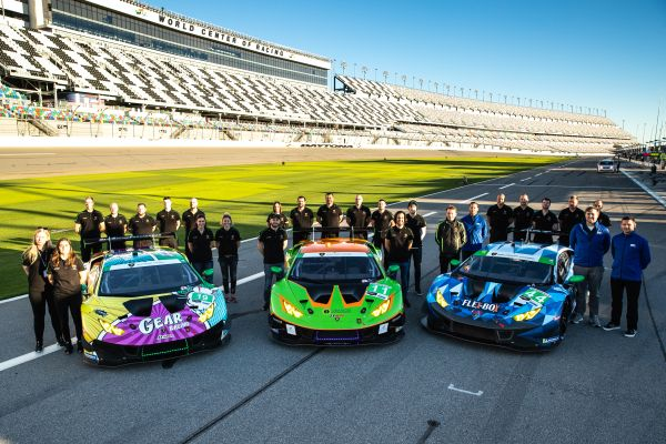 GRT Grasser Racing fight their way into second place in 24 Hours of Daytona
