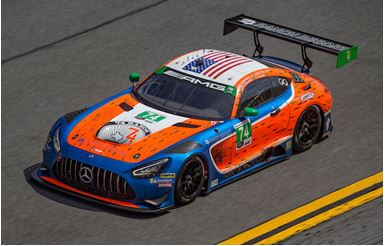 Team Riley Motorsports Secures Rolex 24 At Daytona Race Finish in North American Debut of New Mercedes-AMG GT3