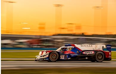 PR1/Mathiasen Motorsports finishes second in the Rolex 24 at Daytona