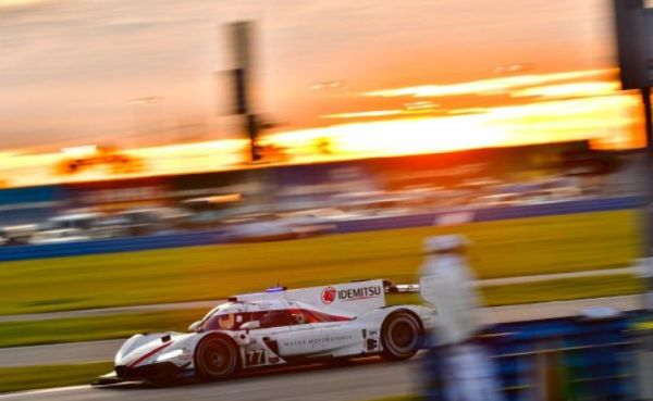 Mazda drives to second in the Daytona 24 Hours