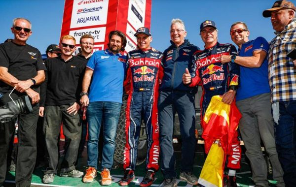 CARS Dakar Rally Final classification - Carlos Sainz winner