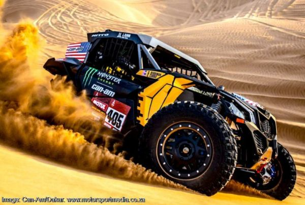 SSV Dakar Rally Final classification - Casey Currie win