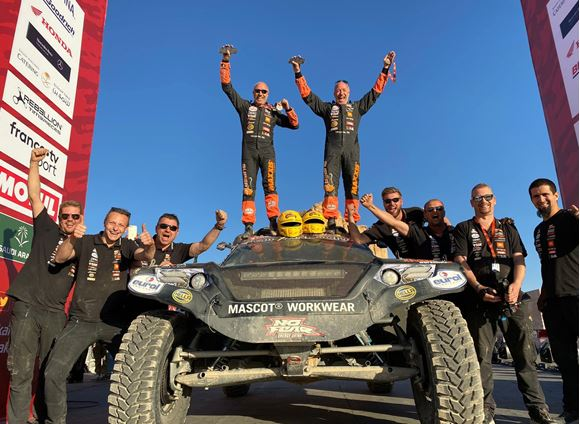 Best Dakar ever for Tim and Tom Coronel