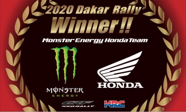 Ricky Brabec and Honda claim the final victory at the 2020 Dakar Rally