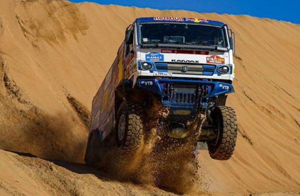 KAMAZ-master dominates 2020 Dakar Rally on standard Goodyear tyres