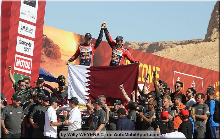 Second place for Al-Attiyah as Alonso completes World's toughest race at Dakar Rally 2020