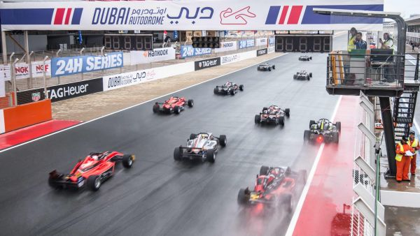 F3 Asia Dubai races 5 and 6 results, overall standings