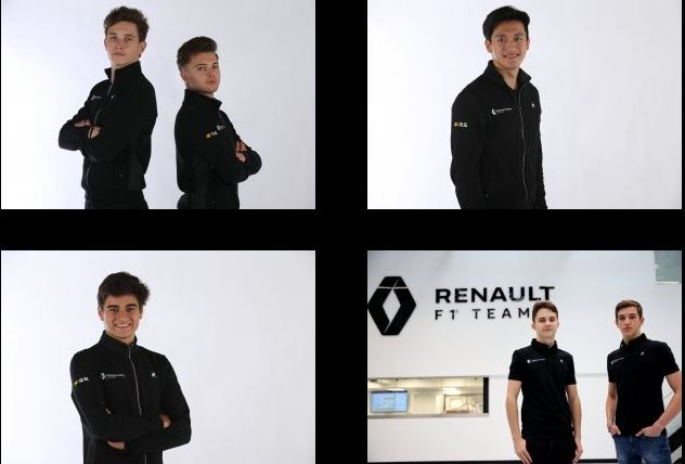 Renault Sport Academy 2020 line-up announced