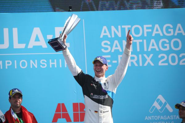 Günther grabs victory from Da Costa on last lap in Santiago