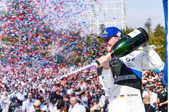 First victory for Maximilian Günther in the ABB FIA Formula E Championship in Santiago