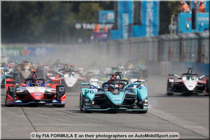 Santiago ePrix final race result, overall classifications driver and teams