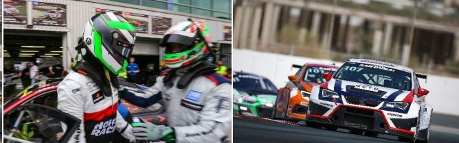 Colin White secures second consecutive TCE pole for CWS Engineering Ginetta in Hankook 24H DUBAI