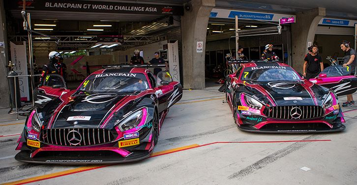 Zun Motorsport Crew confirm two new Mercedes-AMG GT3